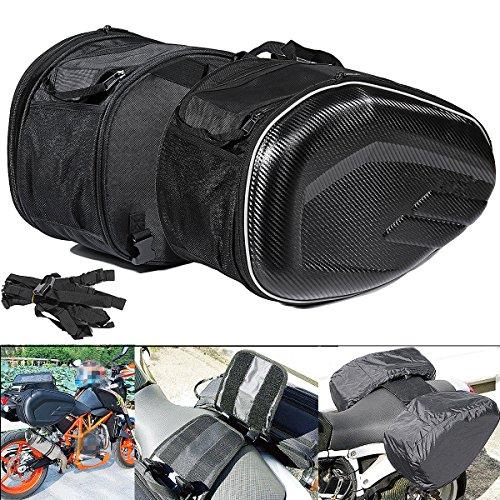 Alamor 58L Bisacce posteriori sedile bagagli grande capacità multi-uso motociclistico espandib