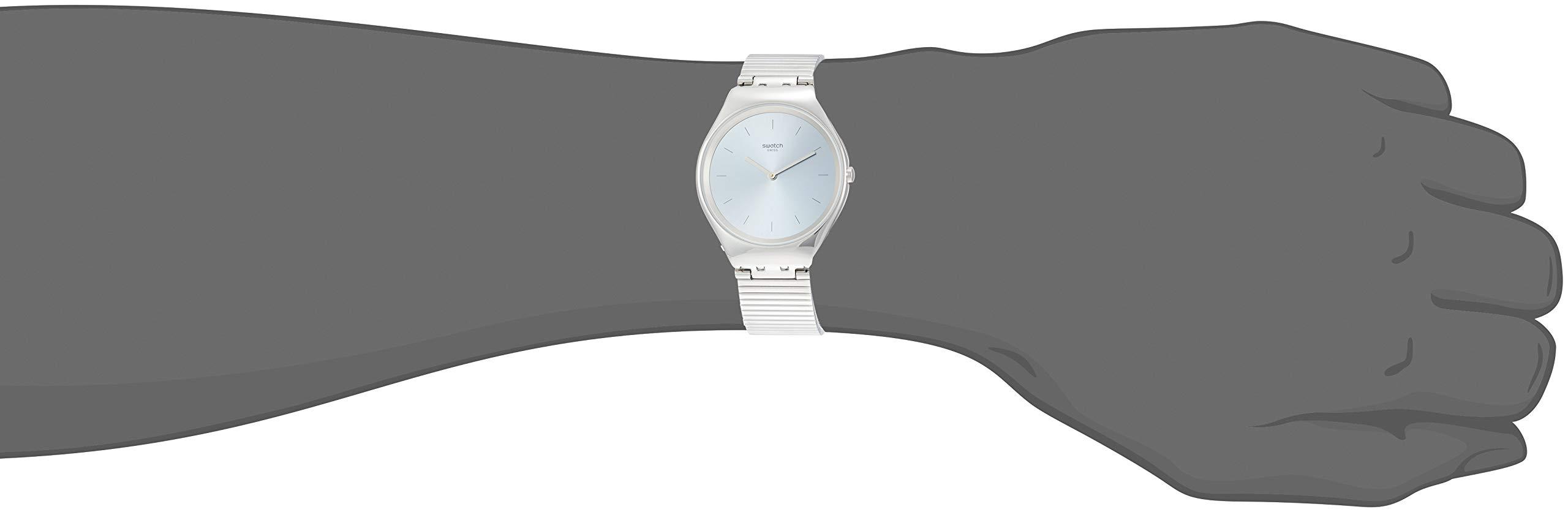 Swatch Reloj Analógico para Unisex Adultos de Cuarzo con Correa en Acero