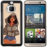 EJOOY---Pelle della copertura di caso di protezione dura ** HTC One M9Plus M9+ M9 Plus (Ragazzi Jean Shorts)