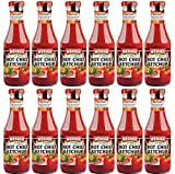 WERDER 12 x Hot Chili Ketchup 450 ml