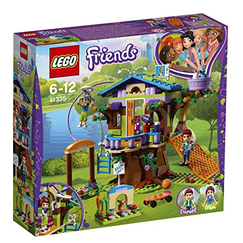 LEGO UK 41335 Mica's Tree House Building Block Best Price and Cheapest