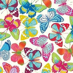 Caspari Entertaining Papier Cadeau Motif Papillons Caspari