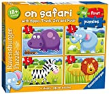 Ravensburger My First Puzzle, On Safari (2, 3, 4 & 5pc) Jigsaw Puzzles
