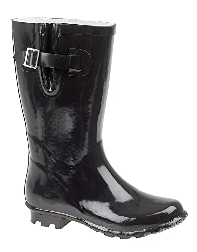 WELLIES WELLINGTON BOOTS CLASSIC BUCKLE / EQUESTRIAN HORSES OLDER ...