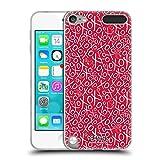 Head Case Designs Offizielle Peanuts Muster Versiegelt Mit Einem Kuss Soft Gel Hülle für Apple iPod Touch 5G 5th Gen
