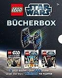 LEGO Star Wars  Bücher-Box: 3 LEGO Bücher - Über 500 Sticker - LEGO Star Wars Miniset TIE Fighter