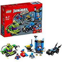Colecci�n de mini juguetes de Lego para juniors. Batman y Superman contra Lex Luthor