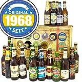 Original seit 1968 | Bier Adventskalender mit Bieren der Welt und Deutschland INKL gratis Bierbuch | Geschenke zum 50. Geburtstag für Frauen Geburtstagsgeschenk 50ter Geschenkidee zum 50. Geburtstag Geschenke Männer Biergeschenke Bier Box Original seit 1968