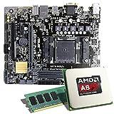 AMD A8-7600 / ASUS A68HM-PLUS Mainboard Bundle / 8192 MB | CSL PC Aufrüstkit | AMD A8-7600 APU 4x...