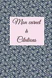 Telecharger Livres Mon carnet a citations (PDF,EPUB,MOBI) gratuits en Francaise