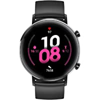 Huawei Watch GT 2 Connected Watch (GPS, 42mm case) with Black Sport Band