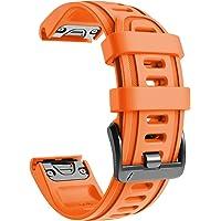 NotoCity Cinturino per Garmin Fenix 6s/Fenix 6s PRO/Fenix 5s/Fenix 5s Plus, 20mm Cinturino di Ricambio in Silicone…