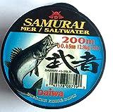 #3: Daiwa Samurai Mer/Saltwater 200 Mtr 0.45mm (12.9Kg/25Lbs)