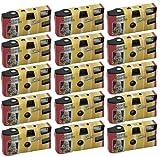 FV-Sonderleistung First Shot Lot de 15 appareils photo jetables avec flash 400ASA 27 vues