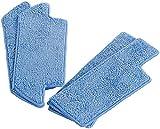 Sichler Haushaltsgeräte Zubehör zu Boden-Wischroboter: 2er-Set Ersatz-Wischtücher für Saug- & Bodenwischroboter PCR-8500LX (Elektrische Staubsauger-Roboter)