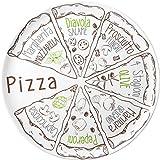 Brunner Melamin Geschirr Campinggeschirr Pizzateller 37,5 PIZZA SET 2tlg
