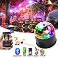 1KOOT Disco Ball Light Disco Lights Strobe Crystal Magic Ball Lighting with Remote Control Party Light
