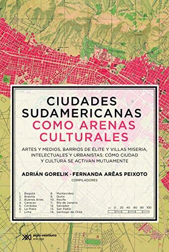 Ciudades sudamericanas como arenas culturales: Artes y medios, barrios de élite y villas miseria, intelectuales y urbanistas. Cómo ciudad y cultura se activan mutuamente (Teoría)