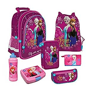 frozen die eisk nigin schulrucksack schulrucksackset. Black Bedroom Furniture Sets. Home Design Ideas
