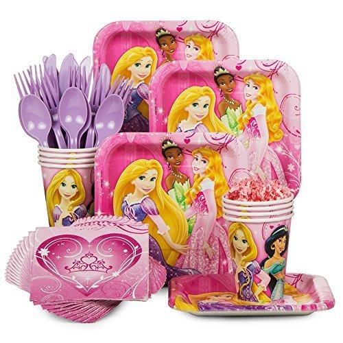 BBKIT788 Disney Princess Party Standard Tableware Kit by Costume SuperCenter ()