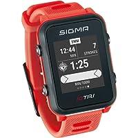 Sigma Sport iD.TRI GPS Triathlon-Uhr mit Trainings- und Wettkampffeatures, Navigation, Smart Notifications, leicht und…