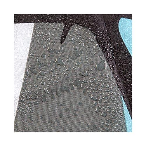 InterDesign Thistle Duschvorhang aus Stoff - 5