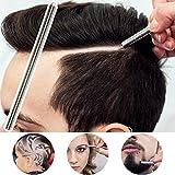 Msmask Incisione Penna Barba Barbiere Sopracciglia Styling Rasoio Sopracciglia Salone Lama immagine