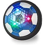 Maxesla Pallone Calcio Fluttuante Ricaricabile, Air Hover Calcio con LED Luce Air Power Soccer Disc da Allenamento in Schiuma