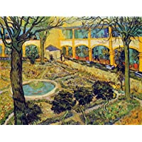 Battle Road Press The Courtyard of the Hospital at Arles 500 Plus Piece Vincent Van Gogh Jigsaw Puzzle by Battle Road Press - Comparador de precios