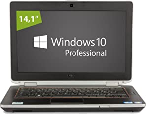 Dell Latitude E6420 Notebook | 14.1 Zoll Display | Intel Core i5-2520M @ 2,5 GHz | 4GB DDR3 RAM | 500GB HDD | DVD-Brenner | Windows 10 Pro (Zertifiziert und Generalüberholt)