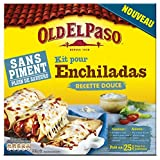 Old El Paso Kit sans Piment pour Enchilada 585 g  - Lot de  2