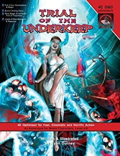Trial of the Underkeep: A D&D 4E Adventure (0984090002) | Amazon Products