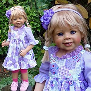"""Masterpiece Dolls Daddy's Little Girl By Monika Levenig, 34"""" Full Vinyl Ball-jointed Doll by Masterpiece Dolls"""