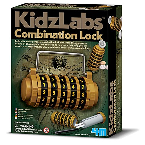 4M 68421 - Detektivwesen - KidzLabs - Combination Lock
