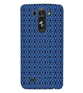 ColourCraft Pattern Design Back Case Cover for LG G3 S