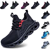 Safety Shoes Men Steel Toe Cap Women Work Trainers Comfortable Lightweight Breathable Puncture Proof Protective Footwear Snea