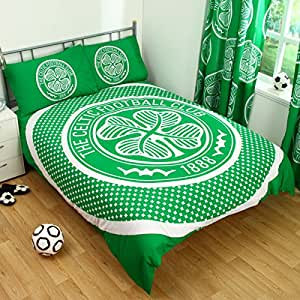 Celtic Fc Bullseye Crest Single Duvet Set Quilt Cover