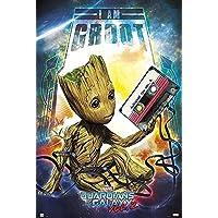 Marvel Guardianes de la Galaxy Vol. 2–Póster de I Am Groot (61cm x 91,5cm) + Plus fabuloso protectora tubo de regalo