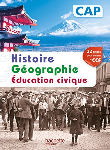 Histoire Gographie CAP - Livre lve - Ed. 2014