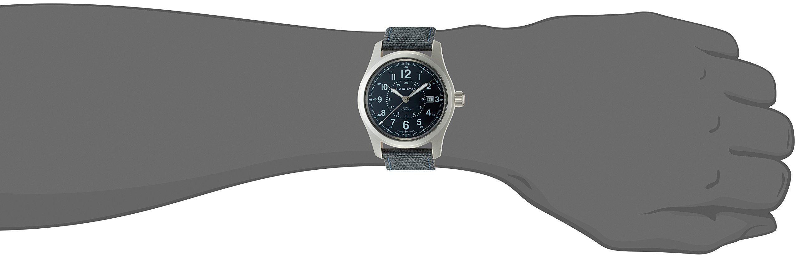 Hamilton H70605943 – Reloj (Reloj de Pulsera, Masculino, Acero Inoxidable,