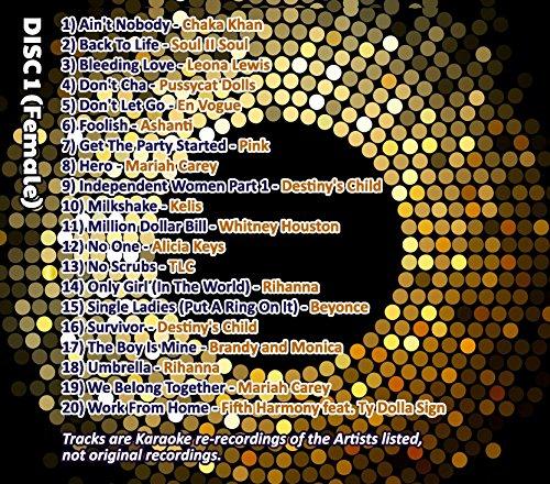 Image of Mr Entertainer Big Karaoke Hits of R&B - Double CD+G (CDG) Pack. 40 Top Songs