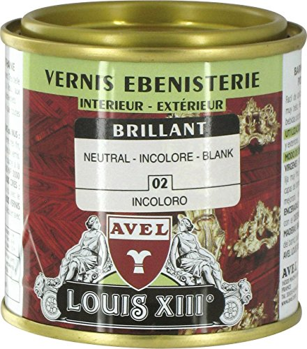 Louis XIII 340950 Vernis bois brillant 125 ml Incolore
