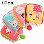Woogor New Girl Women Sanitary Napkins Organizer Sanitary Napkins Pads Pouch Carrying Easy Bag Small Articles Gather...