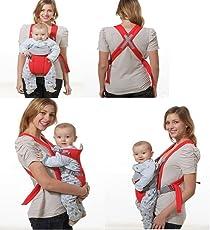 SHOPEE Branded Comfortable Baby Carriers Belt Sling Kangaroo Bag - RED