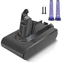 Morpilot 21.6V 3000mAh Batterie de Remplacement pour Dyson V6 Toute Séries DC62 DC58 DC59 DC61 DC72 DC74 SV03 SV06 SV09…