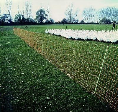 ARNDT Gartenzaun Geflügelnetz Hundezaun Katzenzaun Kleintierzaun Schafzaun - lammsicher Höhe: 112 cm Länge: 50 Meter von ARNDT - Du und dein Garten