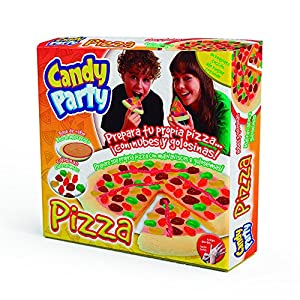 Candy Party Pizzas Surtido de Actividades, (Toys Partner 27107)