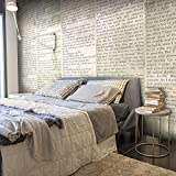 murando - Fotomurales PURO 10 m - Papel pintado tejido no tejido - Blanco m-A-0594-j-b