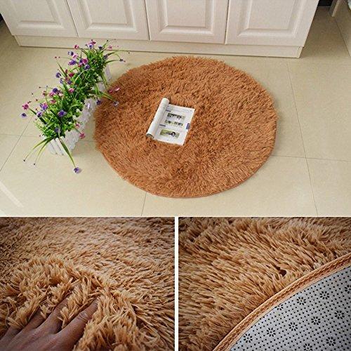 Turno Shaggy Tappeti Area e della moda moderna morbido tappeto soggiorno camera da letto lavabile (Cotone Tessuto Piano Tappeto)