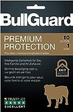 BullGuard Premium Protection 2019 - 1 Jahr / 10 Geräte (PC, MAC, Android)|Vollversion|10 Geräte|1 Jahr|PC/Mac/Android usw.|Download|Download